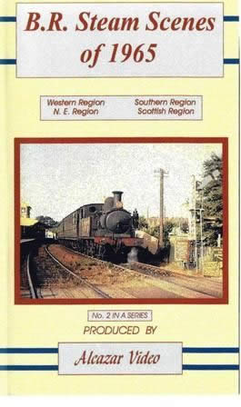 British Rail Steam Scenes Of 1965