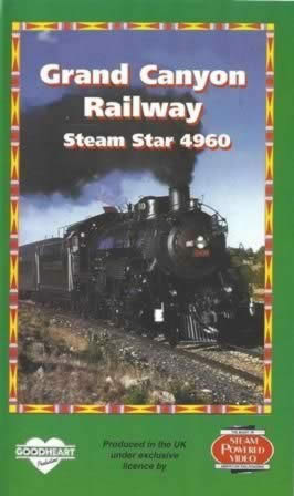 Grand Canyon Railway - Steam Star 4960