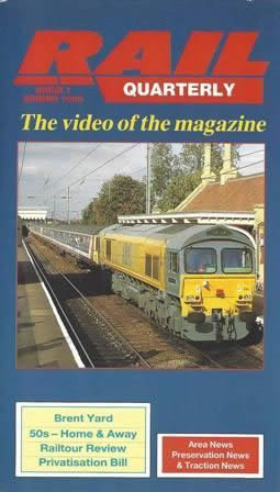 Rail Quarterly Issue 1 - Spring 93