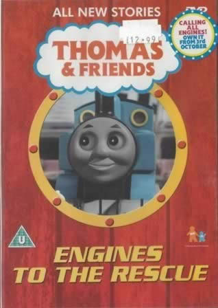 DVD Thomas-Friends; Engines To The Rescue