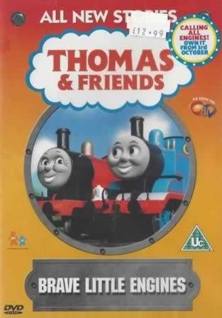 dvd thomas friends brave little engines