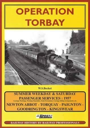 Operation Torbay - Summer Weekday & Saturday Passenger Services 1957