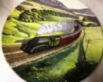 Past Green Fields. Limited edition Ceramic Plate by Norman Elford Bradex 26R62-90.3