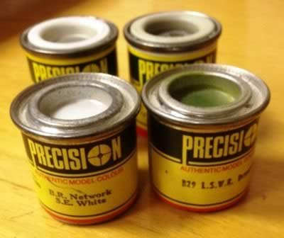 Precision Paint 14ml tinlets: BR Engineers Service Vehicle Olive