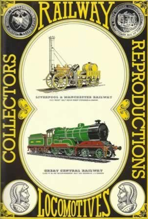 Railway Locomotives: Collectors Reproductions