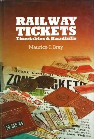 Railway Tickets Timetables And Handbills