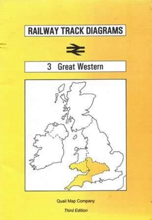 Railway Track Diagrams 3 Great Western