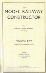 The Model Railway Constructor - Volume Two (March 1935 - December 1935)