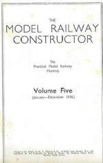 The Model Railway Constructor - Volume Five (January - December 1938)