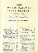 The Model Railway Constructor - Volume Seven (January 1940 - January 1941)