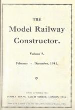 The Model Railway Constructor - Volume Eight (February - December 1941)