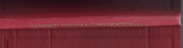 The Model Railway Constructor - Volume Eleven (January - December 1944)