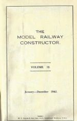 The Model Railway Constructor - Volume Twelve (January - December 1945)