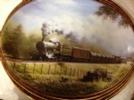 The Milk Train. Limited Edition Ceramic Plate by Don Breckon Bradex 26-D08-025.6