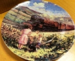 The Royal Scot. Limited edition Ceramic Plate by Paul Gribble Bradex 26-B10-1.4