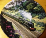 Through the Cutting. Limited edition Ceramic Plate by Norman Elford Bradex 26-R62-90.4