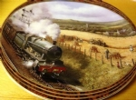 Trackside Harvest. Limited edition Ceramic Plate by Don Breckon Bradex 26-D08-025.1