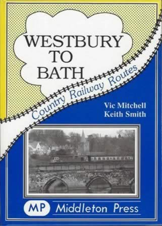 Country Railway Routes Westbury To Bath